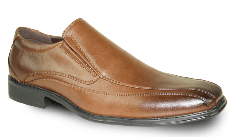 Bravo Milano-7 Men's Dress Slip On Loafer in brown