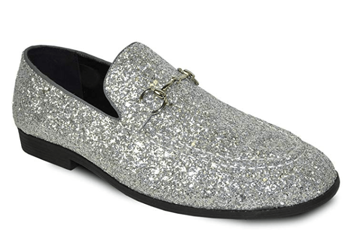 Bravo Prom 1 Dress Loafer, Silver