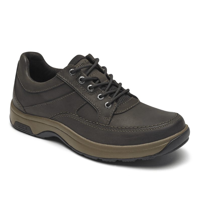 Dunham Midland Waterproof Oxford-Brown Nubuck CH3005