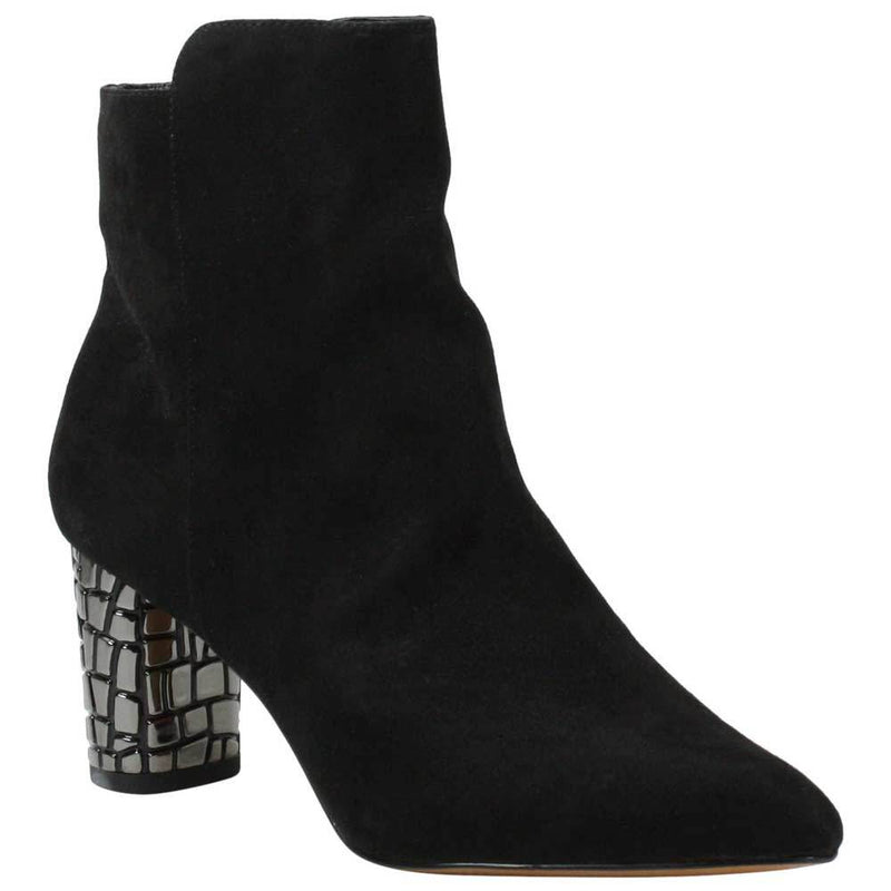 J Renee Christien Black Suede