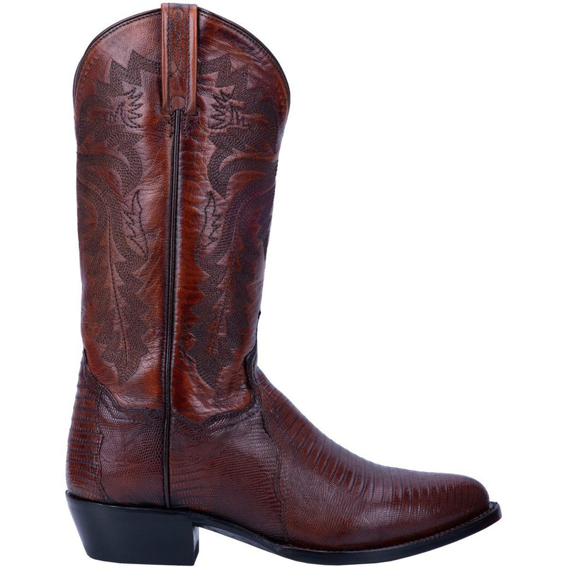 Dan Post Winston Lizard Boot DP3051R Cognac