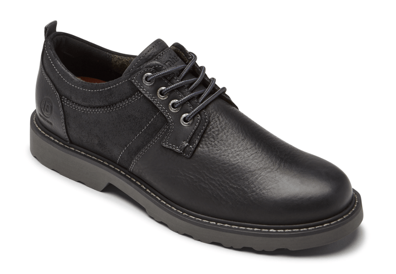 Dunham Jake Men's Waterproof Oxford in Black Grey