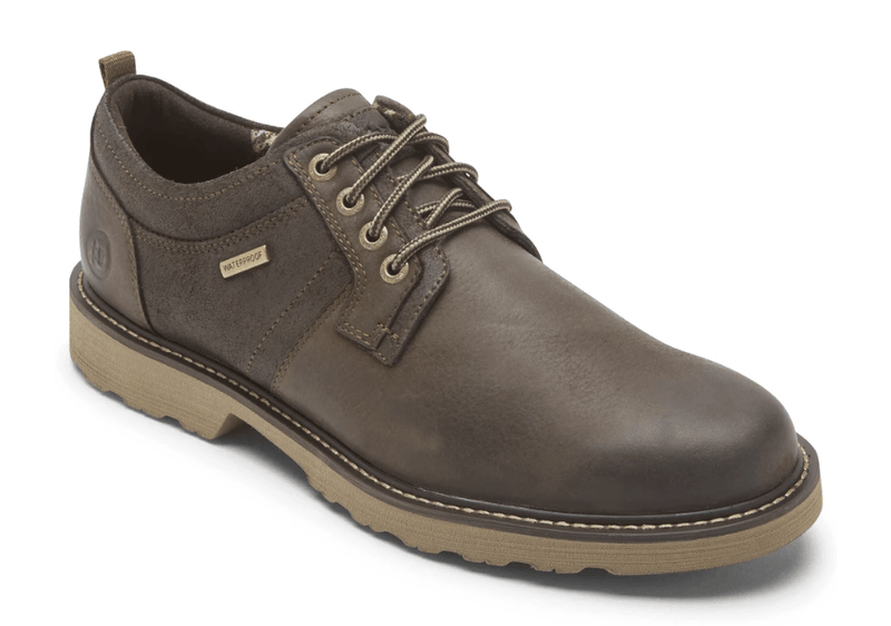 Dunham Jake Men's Waterproof Oxford in Dark Brown