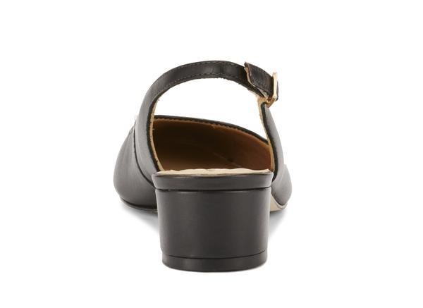Walking Cradle Hazel Black Leather