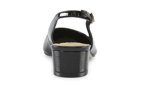 Walking Cradle Hazel Black Tumbled Patent Leather