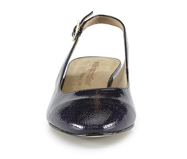 Walking Cradle Hazel Navy Tumbled Patent Leather