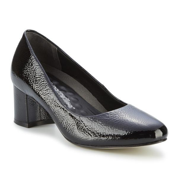 Walking Cradle Jessica Black Tumbled Patent Leather