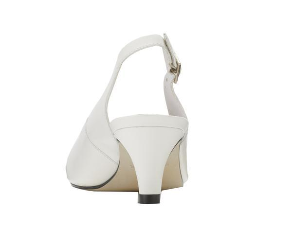 Walking Cradle Jolly White Leather