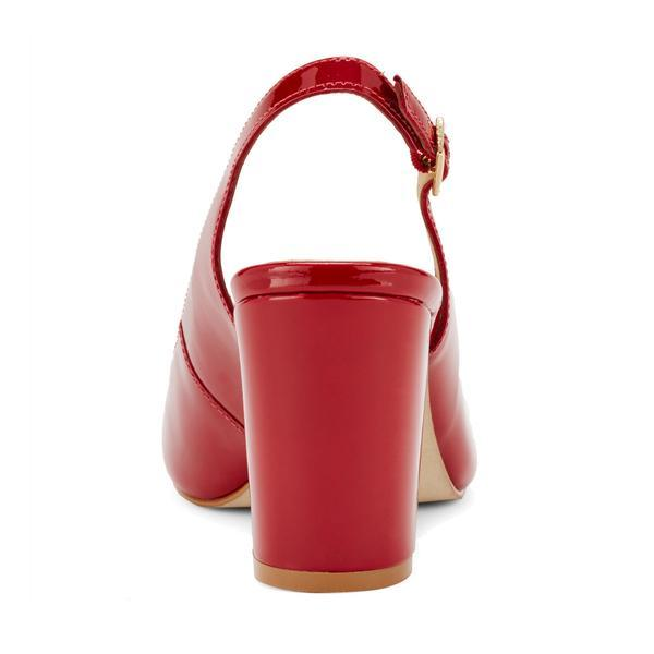 Walking Cradle Michaela Red Patent Leather