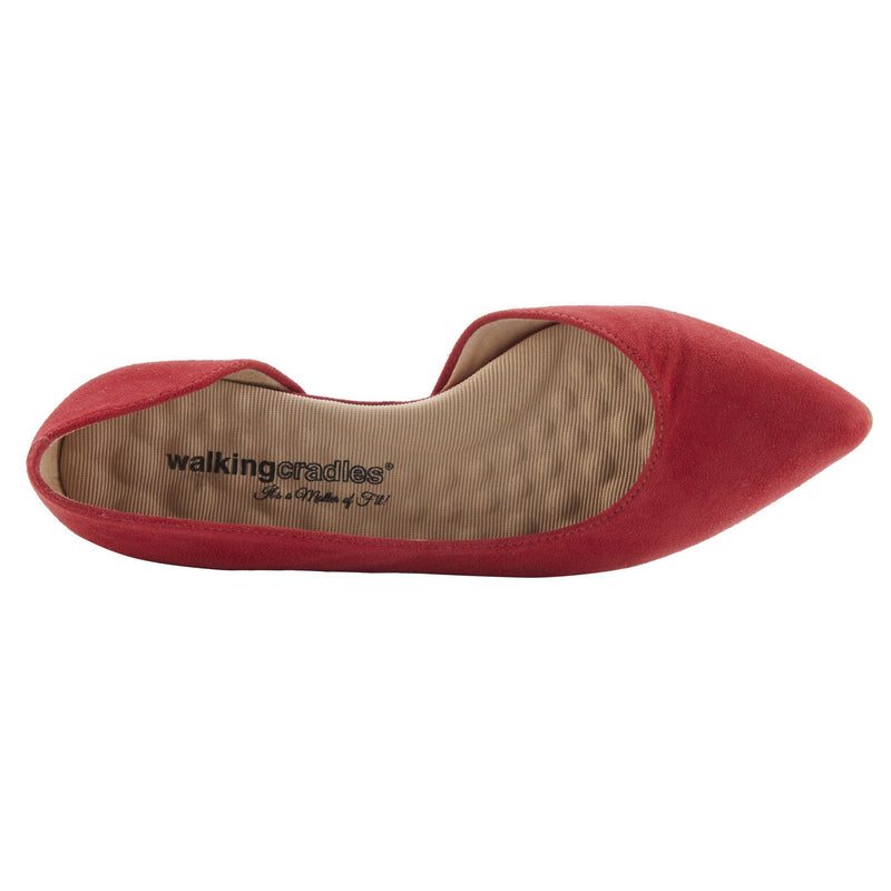 Walking Cradle Raya Red Suede