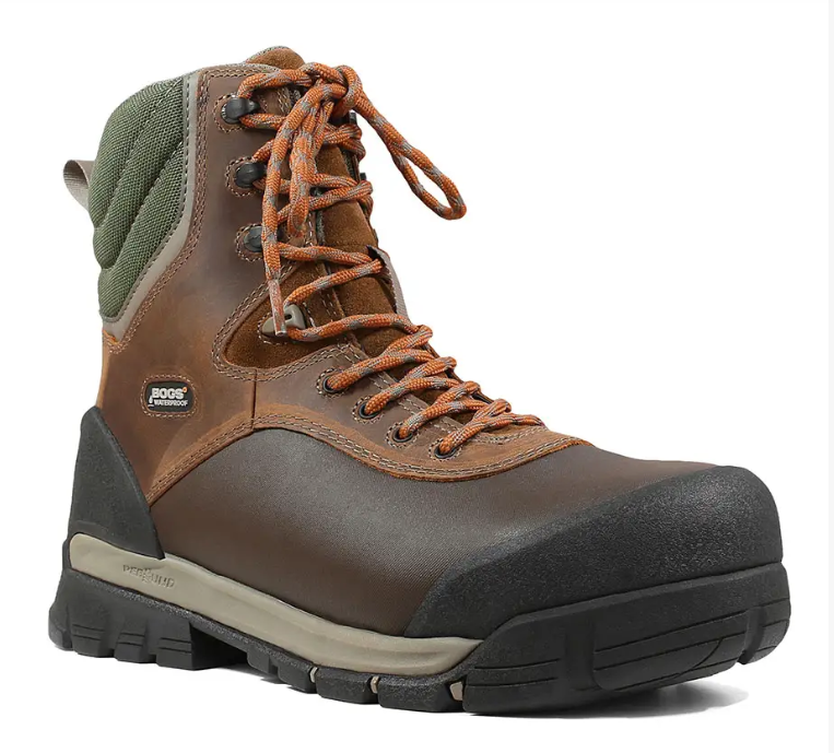 "Bedrock Shell 8"" Comp Toe - Waterproof Work Men's Boots"