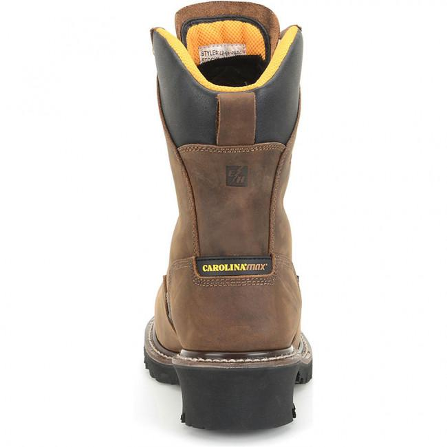 "Carolina Maximus Logger Safety Toe CA6580 8"" Height"