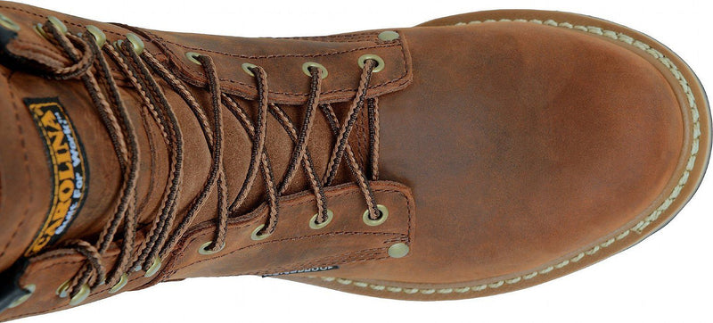"Carolina Elm Steel Toe CA9821  8"" Height"