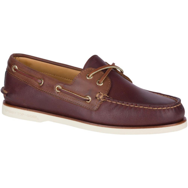 Sperry Gold A/O 2-Eye Chevre
