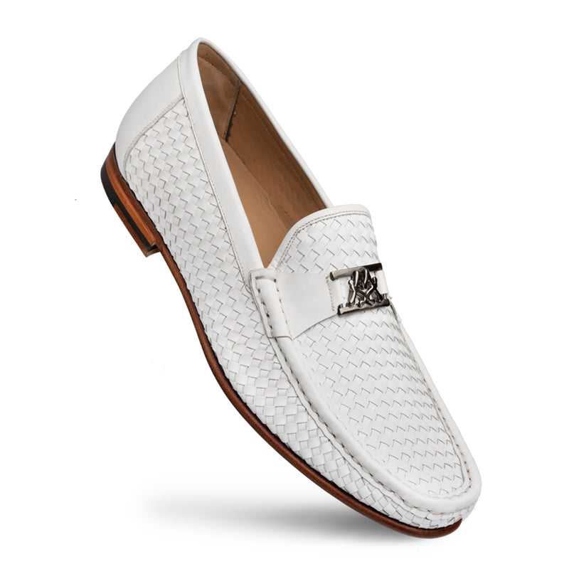 WOVEN LEATHER ICON LOAFER By Mezlan | Calfskin Style # R603