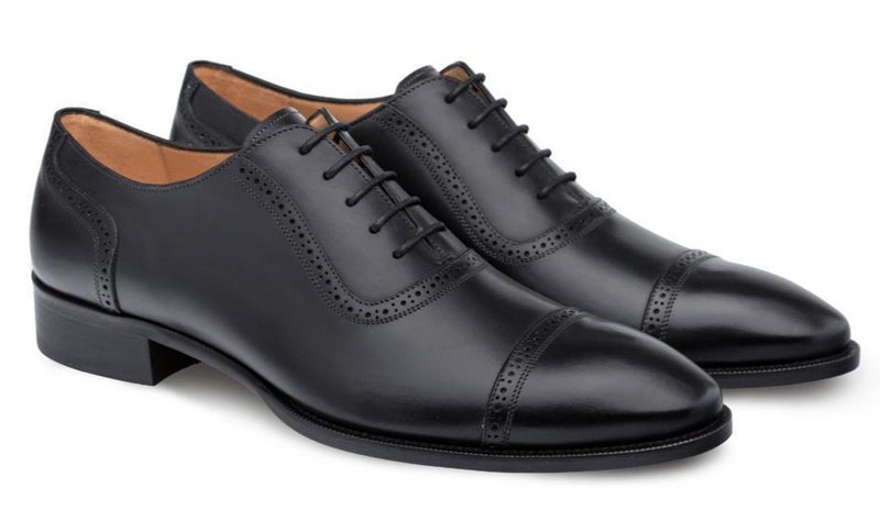 Mezlan Belgrade Men's Oxford Shoe in Black