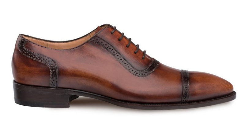 Mezlan Belgrade Men's Shoe in Cognac