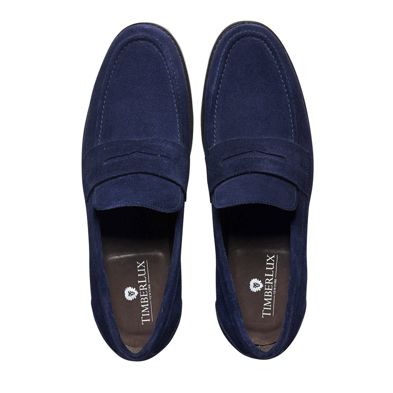 299cf593dc3 Timberlux Suede Penny Loafer – Large Feet