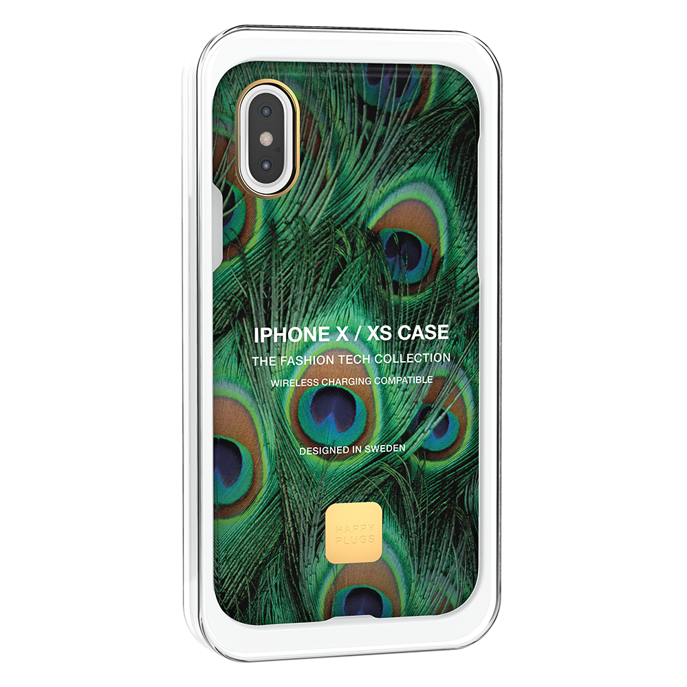 iPhone XS Case Peacock