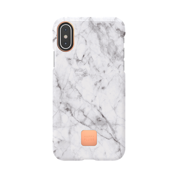 iPhone XS Case White Marble