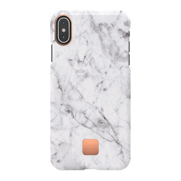 iPhone XS Max Case White Marble