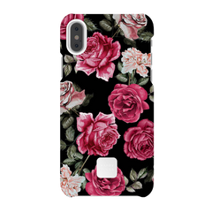 iPhone X Case Vintage Roses