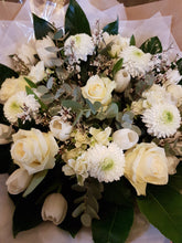 Country Chic @ Alderley Edge - White Rose and Tulip Bouquet - Country Chic @ Alderley Edge-Flower Delivery Alderley Edge, Flower Delivery Macclesfield, Flower Delivery Mottram St Andrew, Flower Delivery Wilmslow, Flower Delivery Knutsford, Flowers, Wedding Flowers, Funeral Flowers, Prestbury Flowers, Wilmslow Flowers, Flowers Macclesfield, Flowers Wilmslow, Flowers in Congleton, Flowers in Biddulph, Chelford, National Flower Delivery, Biddulph Flowers, Flowers in Biddulph, Eaton Cheshire, Broken Cross, Henbury, Siddington, Gawsworth, Buglawton, West Heath, Astbury, Marton, Gillow Heath, Biddulph Moor, Mow Cop