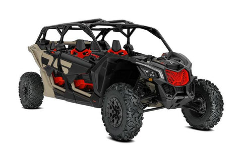 2021 Can-Am Maverick X3 MAX X DS Turbo RR Tan, Black & Red