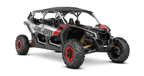 2020 Can-Am Maverickª X3 MAX X rs Turbo RR Gold/Red/Silver