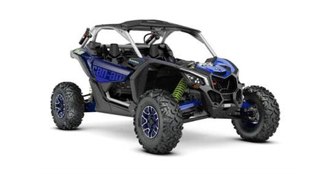 2020 Can-Am Maverickª X3 Xª rs Turbo RR Silver, Blue & Green
