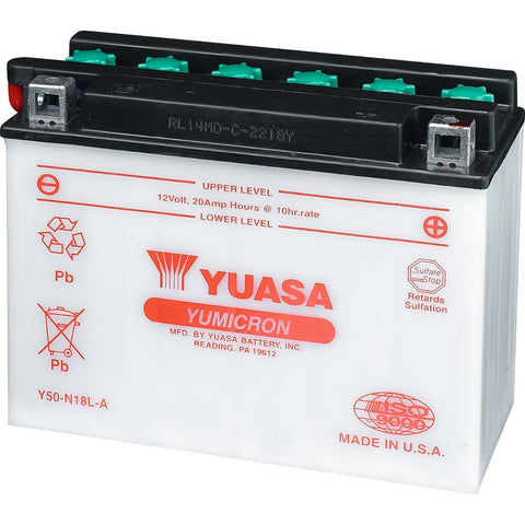 Yuasa† Battery - 19 Amps. Dry (YB16CL-B) 278001756 for Traxter & Quest 1999-2006