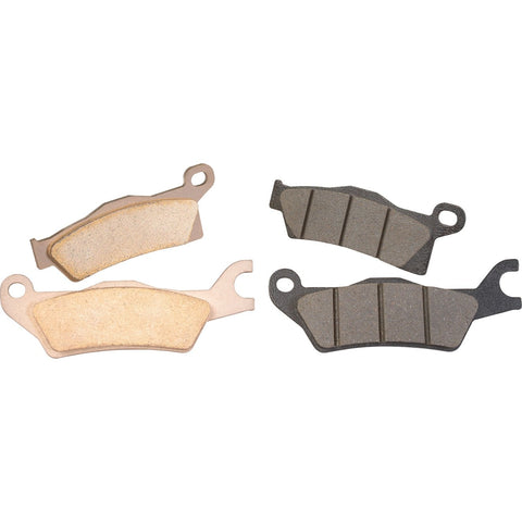 Metallic Brake Pad Kit - Front & Rear Right