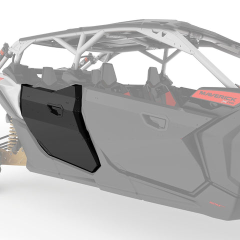 Rear Aluminum Half Doors for Maverick X3 MAX