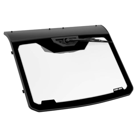 Glass Windshield with Wiper for Maverick Trail, Maverick Sport, Maverick Sport MAX