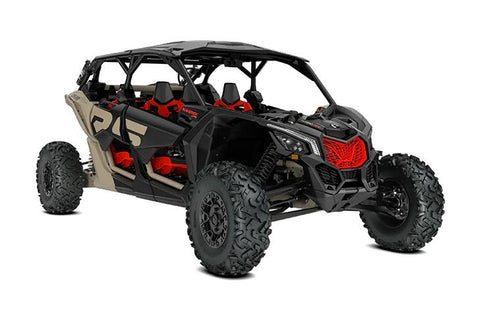 2021 Can-Am Maverick X3 MAX X RS Turbo RR Tan, Black & Red