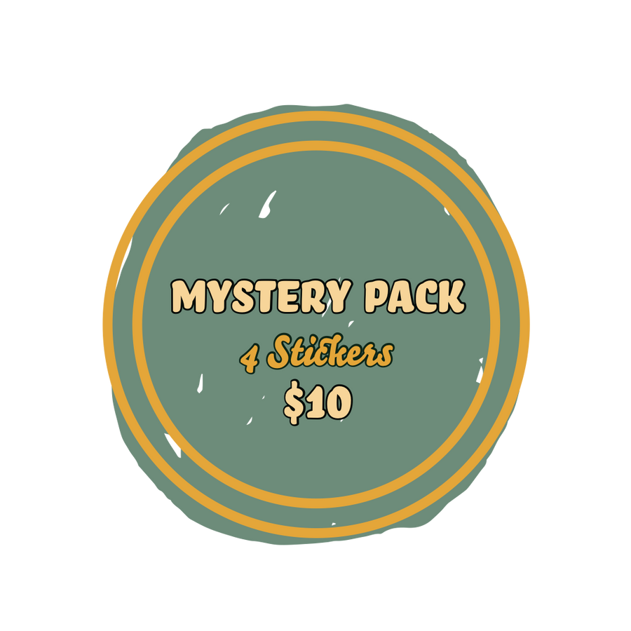 $10 Mystery Sticker Pack