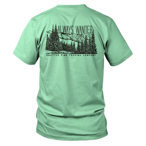 Always Wander Short Sleeve - Mint