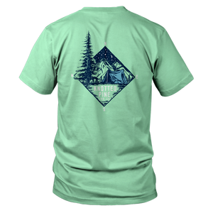 Compass Tent Short Sleeve - Mint