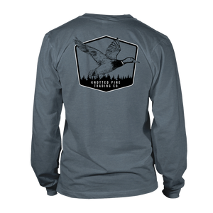 Duck Long Sleeve - Heather Slate