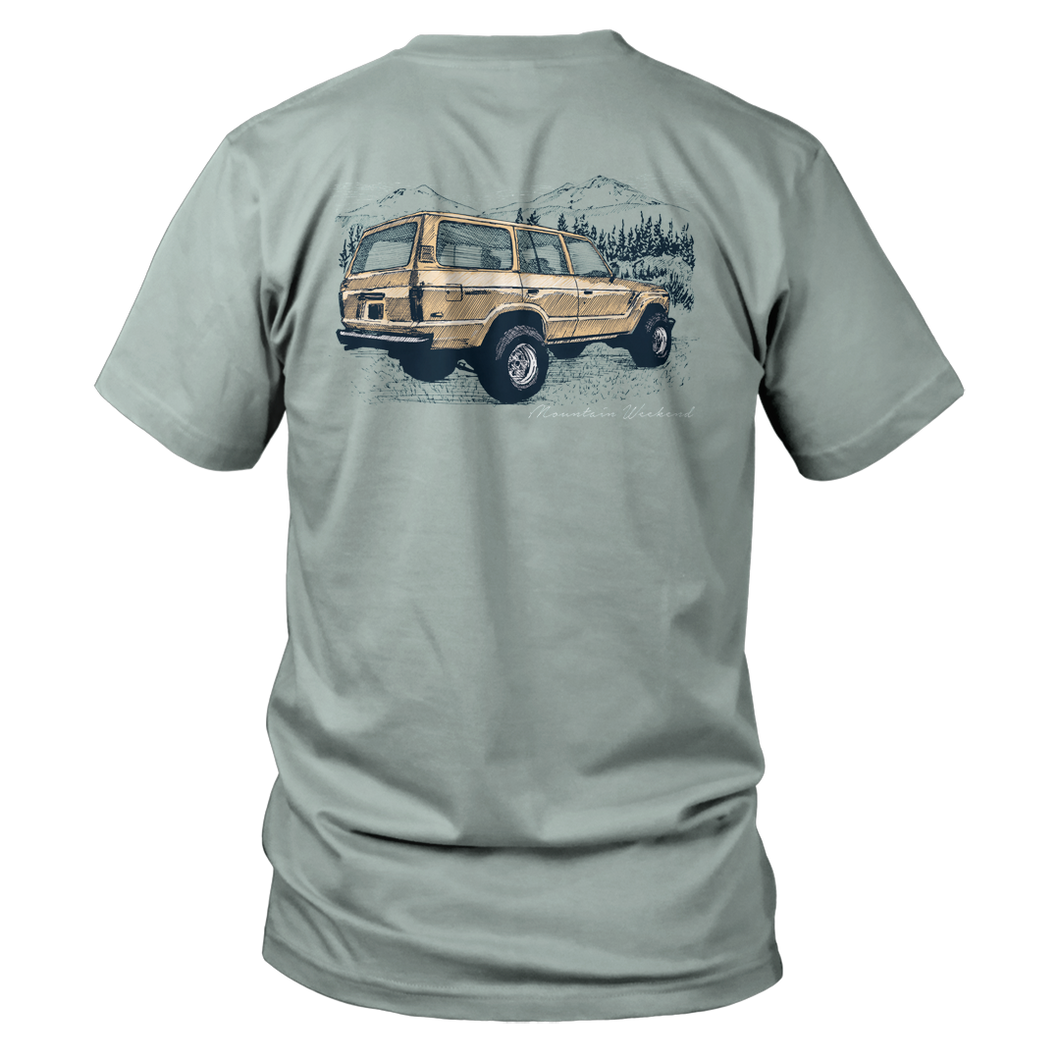 Mountian Weekend Short Sleeve - Bay