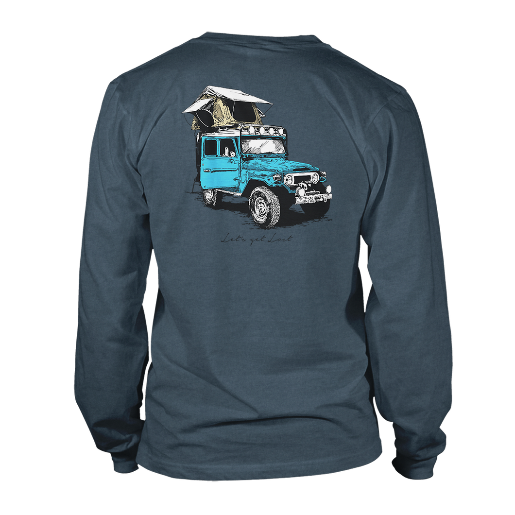Overlander Long Sleeve - Deep Teal Heather