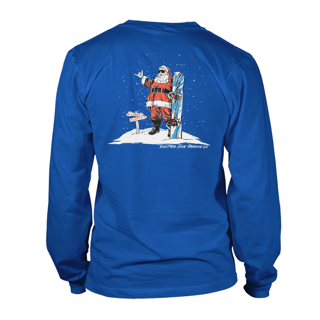 Rad Santa Long Sleeve - True Royal