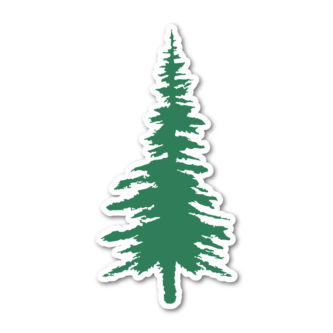 Pine Tree Decal