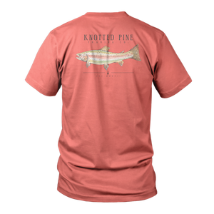Trout Short Sleeve - Salmon