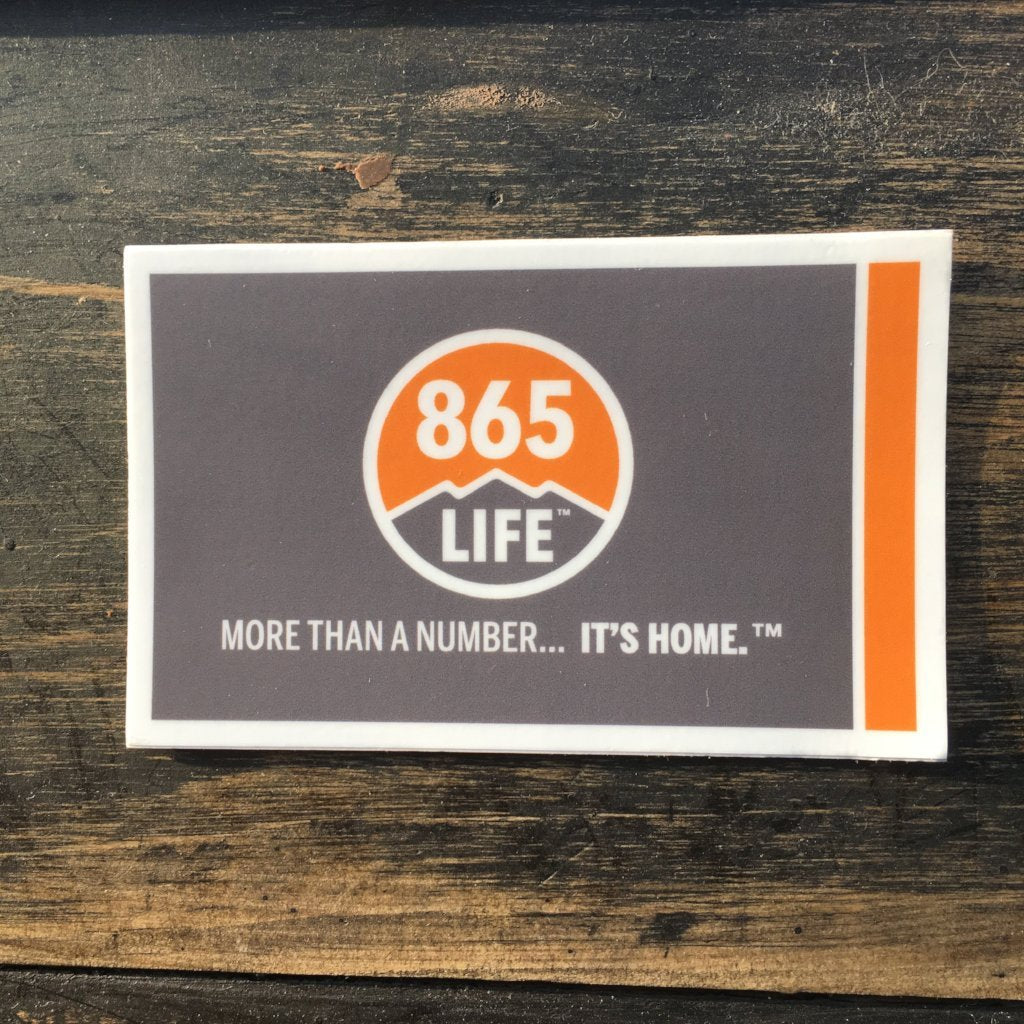 865LIFE Flag Sticker