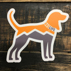 Hound Dog Sticker