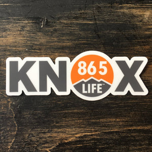 KNOX Sticker + 865LIFE Logo