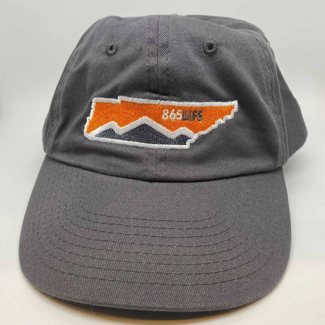 Unstructured Solid Hat + TN State Embroidery