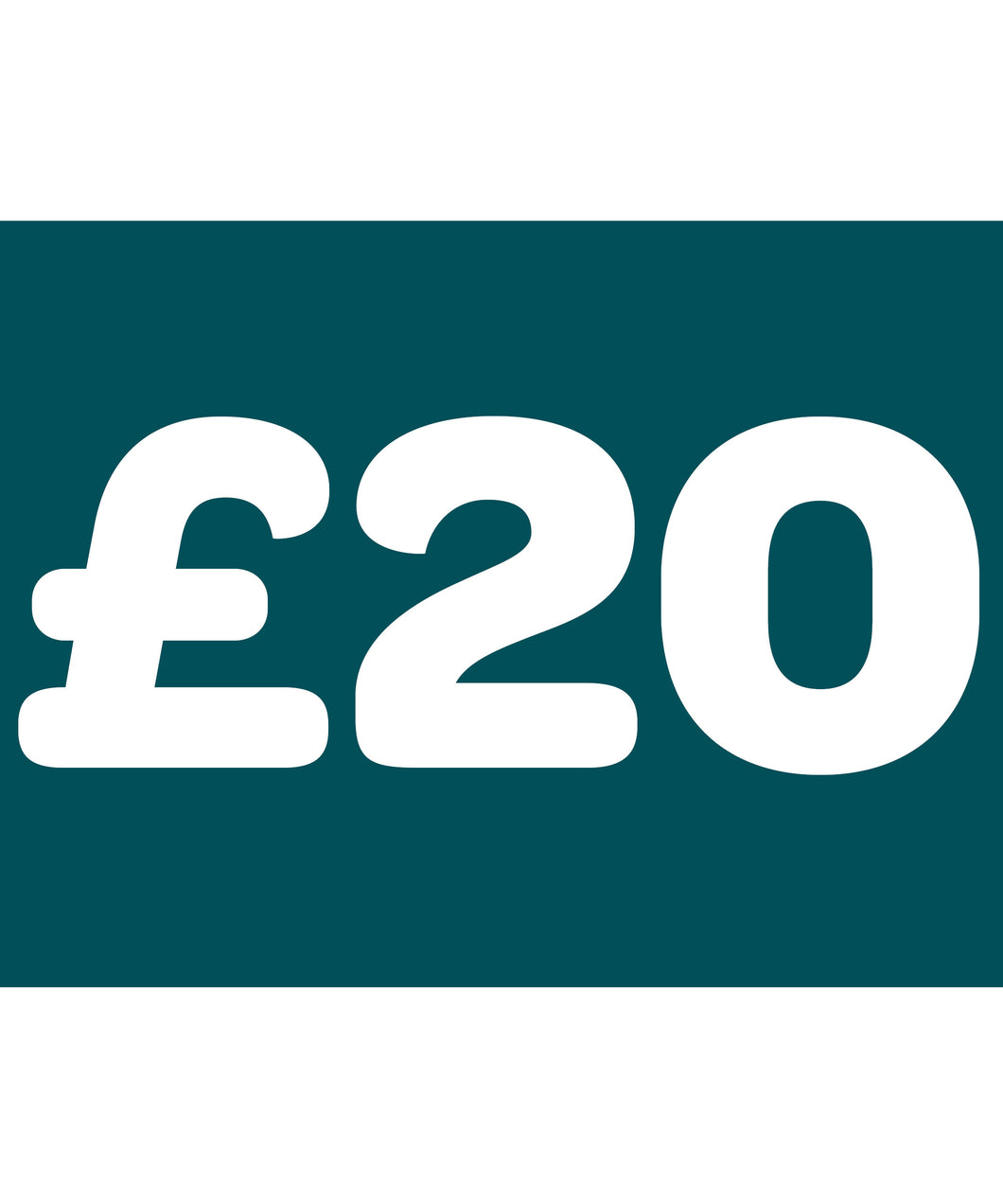 A £20 donation