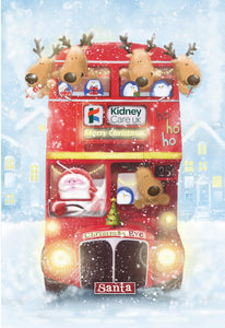 Christmas Bus (pack of 10)